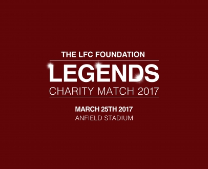 Reds Legends to play first game at Anfield