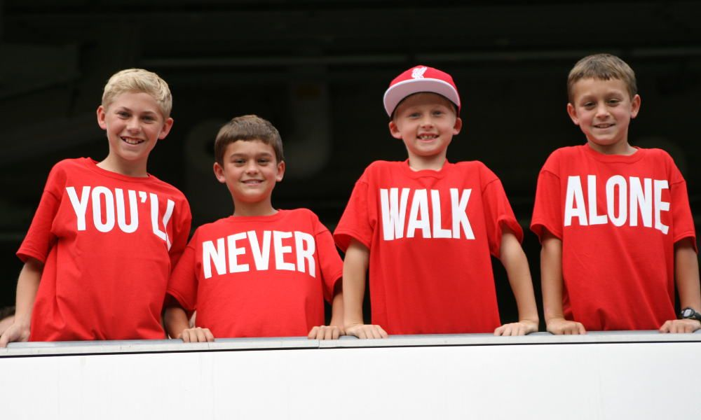 LFC fans pictured at Soldier Field in Chicago