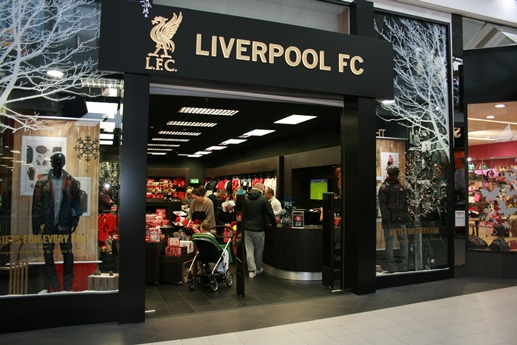Liverpool official shop