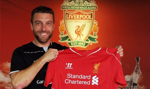 Rickie Lambert to wear No.9 at LFC