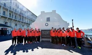 Skuat Liverpool kunjungi Pulau Alcatraz