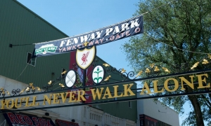 Liverpool FC at Fenway Park