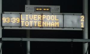 Liverpool muda redam Tottenham Hotspur