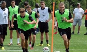 Latihan tertutup LFC di Universitas Princeton, New Jersey
