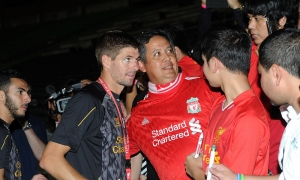 Indonesian Reds meet their heroes