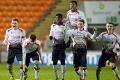 Blackpool 3-3 U18s: 11 mins