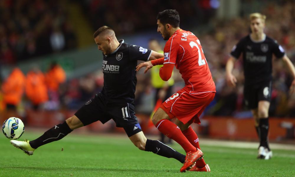 Menit per menit: Liverpool vs Burnley