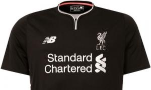 Lihat dari dekat detail kostum tandang LFC untuk musim 2016-17
