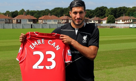 Emre Can to wear Carra's old number