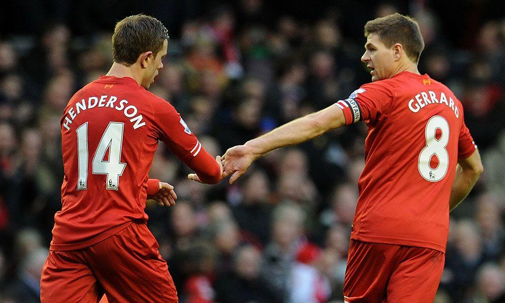 Gerrard dukung Henderson untuk jadi kapten Liverpool berikutnya
