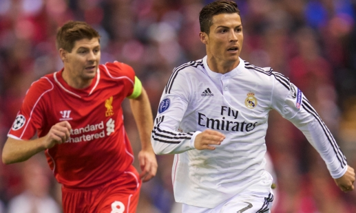 Ronaldo's message for Steven Gerrard