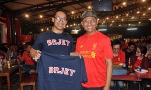 Malam tahun baru nonton bareng LFC vs Man City di Jakarta