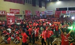 Nonbar LFC vs. Chelsea di Semarang