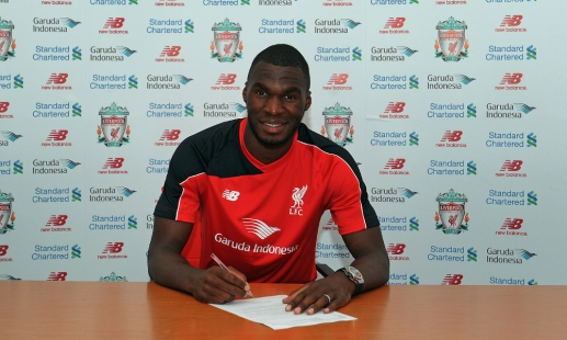 Liverpool complete Benteke signing