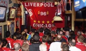Rush dan Fowler jumpai LFC Chicago Supporters Club