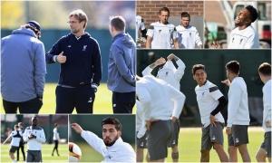 Persiapan di Melwood jelang leg kedua semifinal Europa League