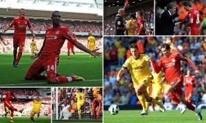 Pertandingan pertama LFC pada 10 musim terakhir