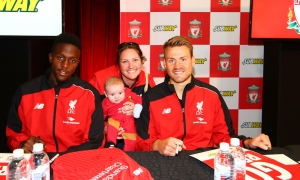 Mignolet and Origi meet Adelaide supporters
