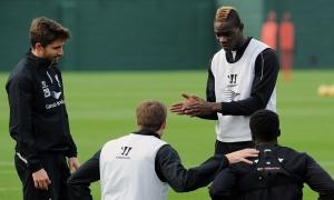 Latihan jelang tandang ke Newcastle