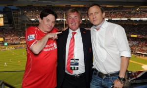 Mike Myers dan Daniel Craig saksikan langsung LFC vs. Man City