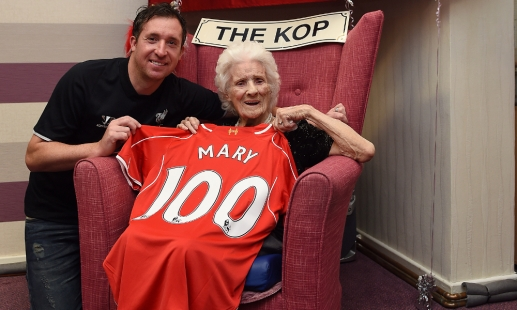 Fowler makes 100th birthday surprise