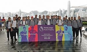 ภาพทีมลิเวอร์พูลเดินทางถึงฮ่องกง LFC Tour 2017