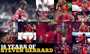 16 tahun perjalanan karir Steven Gerrard