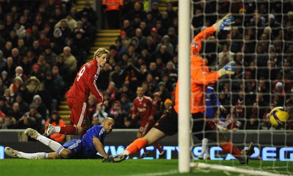 5. Liverpool 2-0 Chelsea (1 February 2009)