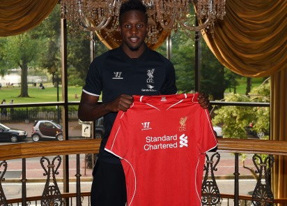 Photos: Divock Origi arrives in the USA