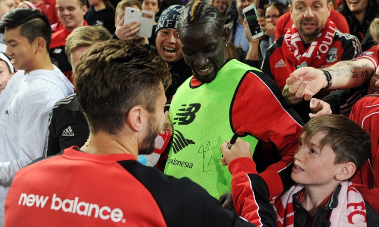 Sakho: How Ribery inspired Lallana prank