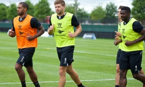 Stevie and co continue hard work