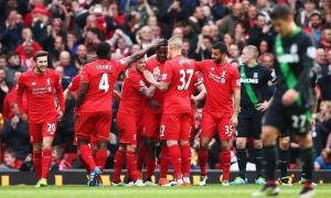 Liverpool 4-1 Stoke
