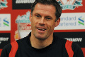 Carra meets the press