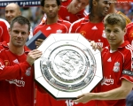 wallpaper, charity sheild, 2006, chelsea, winners, gerrard, carragher, sheild