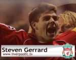 Steven Gerrard, wallpaper, team, squad, Midfielder, 8