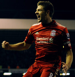 gerrard liverpool everton