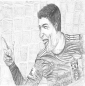 Luis_suarez_-_by_-_ambika_sujir_85X86