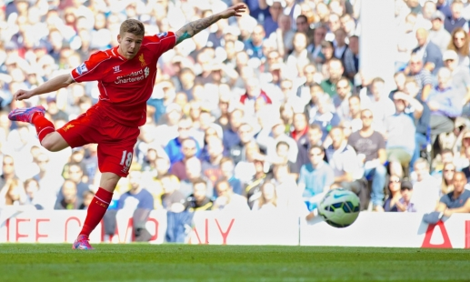 Boss: Moreno goal was born on Monday
