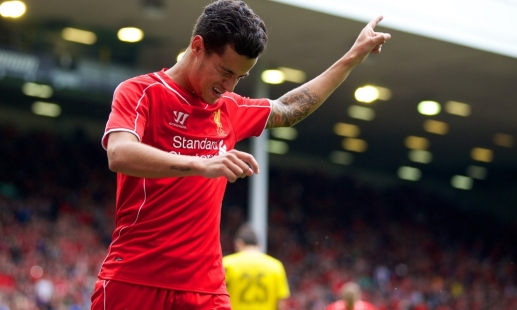 Coutinho shares fans' glee for new season