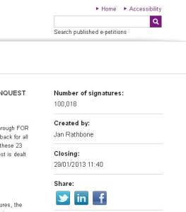 hillsborough, petition