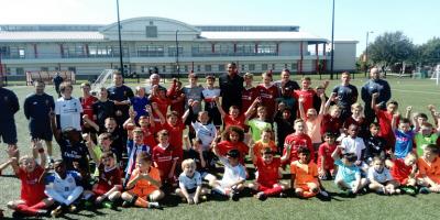 Joel Matip pays special visit to LFC International Soccer School