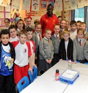 Sakho: I was always taught to give back