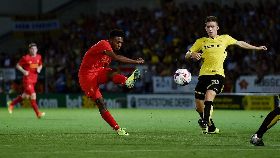 Sturridge on Burton, goals and Spurs