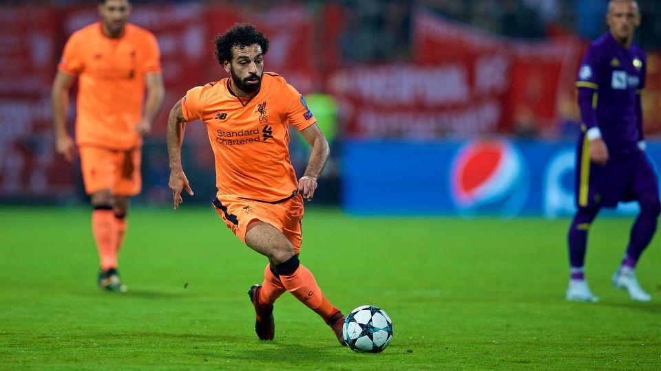 Salah's stunning first half
