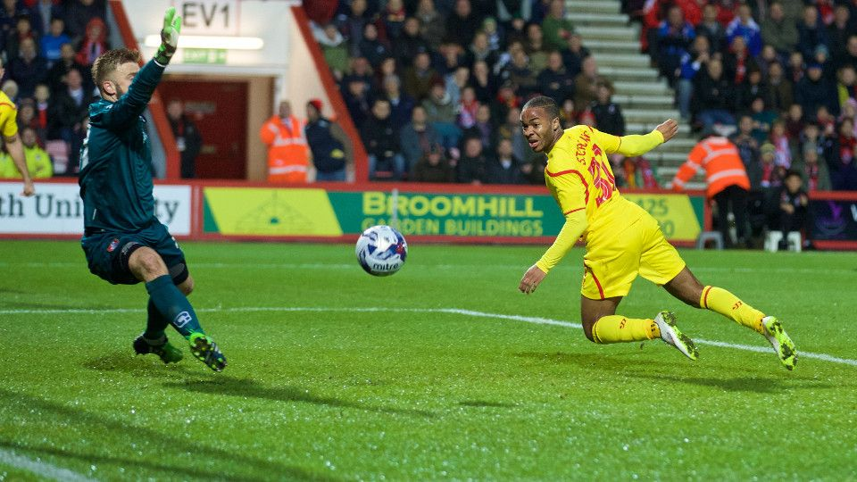 CCTV: Raheem lights up the Goldsands Stadium
