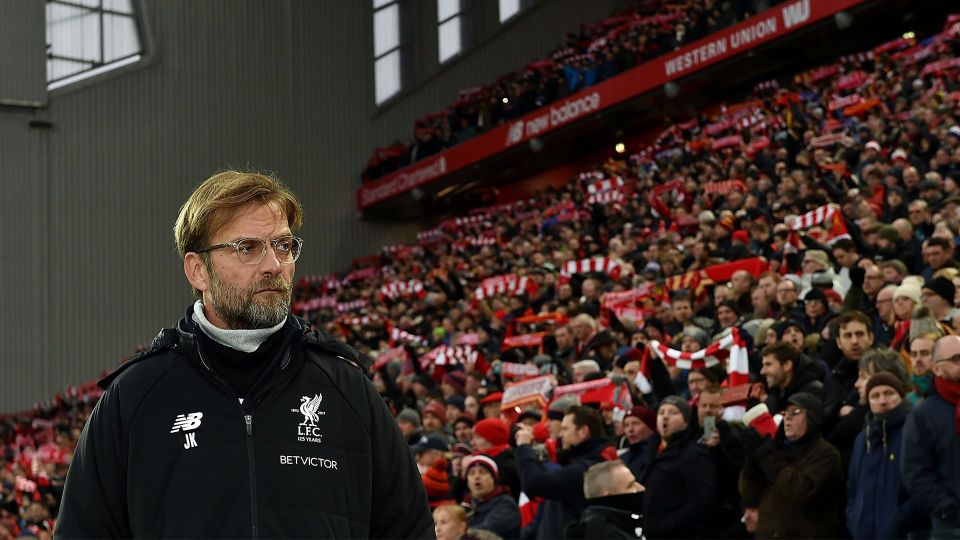 Klopp's reaction to frustrating derby draw