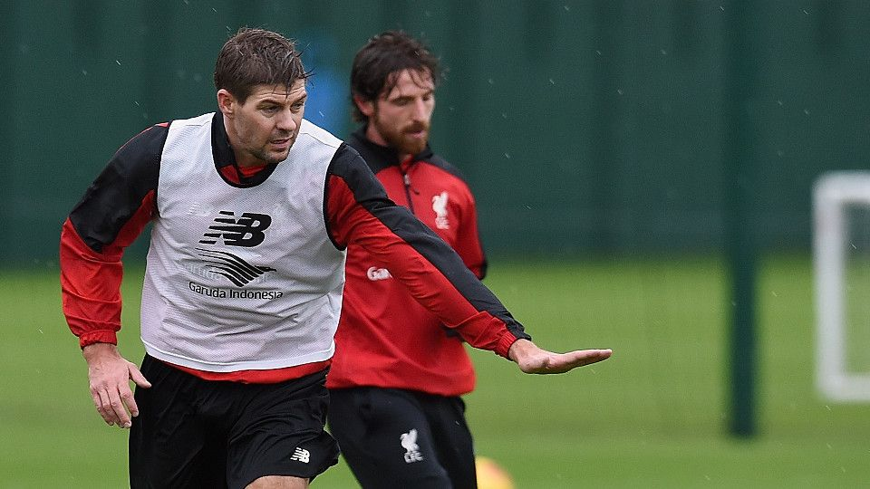 Gerrard returns to Melwood