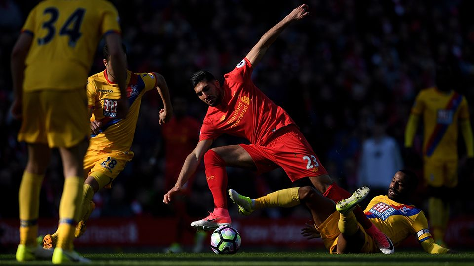 Highlights: Reds 1-2 Crystal Palace