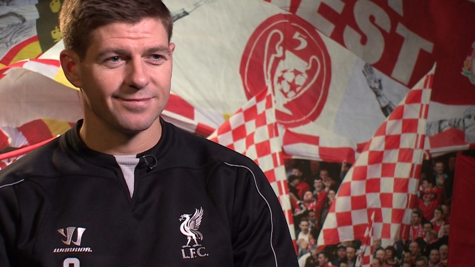 Steven Gerrard: Full interview