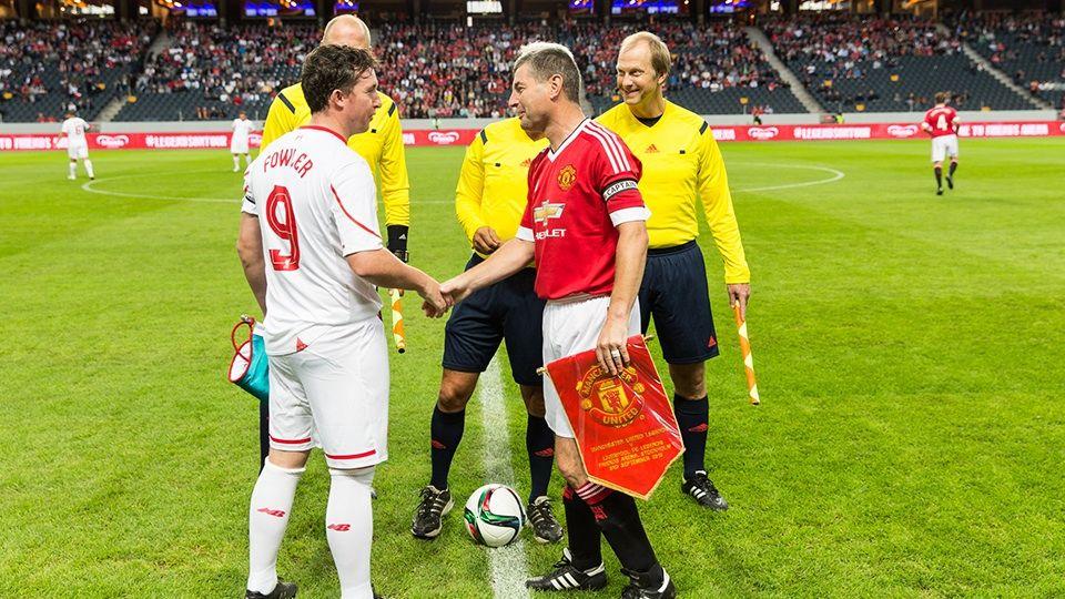 Legends v MUFC: Highlights